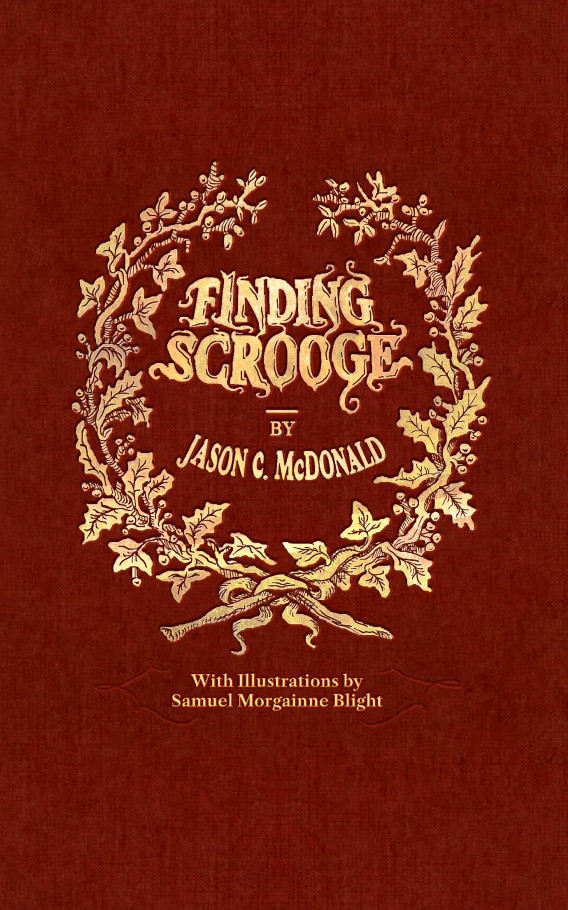 "Cover for ""Finding Scrooge"""